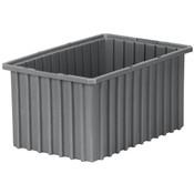 "Akro-Grid Dividable Grid Container, 16 1/2""L x 5""H x 10 7/8""W, Blue"
