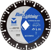 "Multi-Purpose Diamond Blades - 4.5"" x .080 x 7/8"", 5/8"", Mercer Abrasives 680412 (1/Pkg.)"