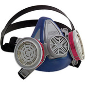 Advantage 200 LS Half-Mask Respirator, 1-Pc Neckstrap, Small
