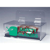 Safety Glasses Dispenser w/ Cover