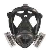 Survivair Opti-Fit Full-Facepiece Respirator, Medium
