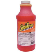 Sqwincher Liquid Concentrate, 32 oz Bottle, Orange (12/Case)