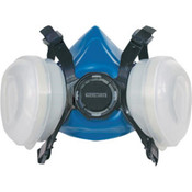 Signature One-Step Low-Maintenance Half-Mask Respirator, Large