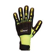TruForce Nitrile Coated Dorsal Protection Gloves, Medium (1 Pair)