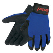 Memphis Fasguard Multi-Purpose Clarino Synthetic Leather Palm Gloves, Large (1 Pair)