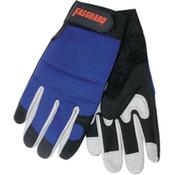 Memphis Fasguard Multi-Purpose Padded Palm Gloves, Large (1 Pair)