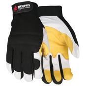 Memphis Fasguard Multi-Purpose, Goatskin Leather, Double Palm Gloves (1 Pair)