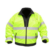 River City Luminator Reversible Class 3 Bomber Jacket, Large