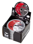 "7-1/4"" x 5/8"" Circular Ultra Fine Finish Carbide Blades, Mercer Abrasives 717144B (25/Pkg.)"