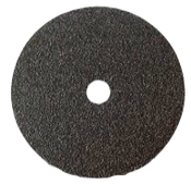 "Cloth Floor Sanding Discs - Silicon Carbide - 17"" x 2"" Hole, Grit/ Weight: 12X, Mercer Abrasives 427012 (20/Pkg.)"