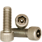 "#10-24x3/8"",(FT) Socket Head Cap Screws w/Pin Tamper Resistant Security Screws, 18- Stainless Steel (A2) (100/Pkg.)"