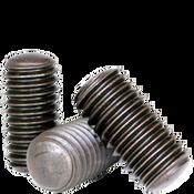 """#10-24x1 1/4"""" Socket Set Screws Oval Point, Thermal Black Oxide (100/Pkg.)"""