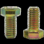 "5/8""-11x2"", (FT) Hex Cap Screws Grade 8 Coarse Zinc-Yellow Cr+6 Bake (175/Bulk Pkg.)"