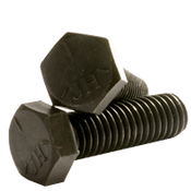 "1 1/2""-6x3"",(FT) Hex Cap Screws Grade 5 Coarse Med. Carbon Plain (1/Pkg.)"