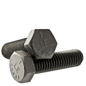 "1 1/4""-7x6 1/2"",(PT) Hex Cap Screws Grade 5 Coarse Med. Carbon Plain (USA) (1/Pkg.)"