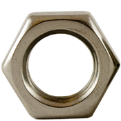 "1 1/8""-7 Hex Hex Jam Nuts 18-8 Stainless Steel (100/Bulk Pkg.)"