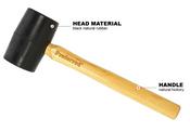 Rubber Mallet Proferred Hammer (16oz)