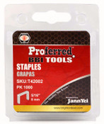 "9/16"" (14mm) Height Proferred Staples (1.2mm Thick, 10.6mm Wide)"