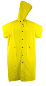 3Xl Yellow W/ Detachable Hood Proferred Rainwear (1/Pkg.)