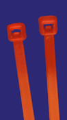 "8"" Halar Cable Ties 35 lb. (100/Bag)"