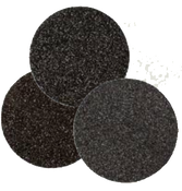 "Floor Sanding Edger Discs - Silicon Carbide Hook & Loop - 6"" x No Hole, Grit/ Weight: 40F, Mercer Abrasives 457040 (50/Pkg.)"