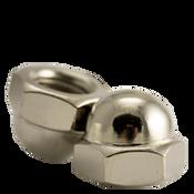 "1/2""-13 Acorn Nut, 2 Piece, Nickel Plated (50/Pkg.)"