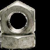 """1 3/8""""-6 Hex Jam Nut, Coarse, Low Carbon Steel , Hot Dip Galvanized (10/Pkg.)"""