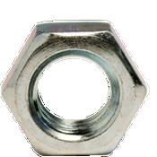 """1 3/4""""-5 Hex Jam Nut, Coarse, Low Carbon Steel Zinc Cr+3 (5/Pkg.)"""