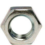 "1 1/8""-12 Hex Jam Nut, Fine, Low Carbon Steel  Zinc Cr+3 (10/Pkg.)"