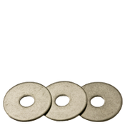 "1/4""X1-1/4"" Fender Washers Zinc Cr+3 (5 LBS/Pkg.)"