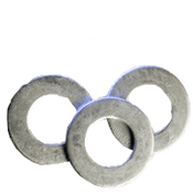 #12 SAE Flat Washers Low Carbon  HDG (25 LBS/Bulk Pkg.)