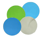 "Aluminum Oxide Micro Finishing Discs - PSA - 5"" x No Dust Holes, Micron Grade: 15u - Grit: 600, Mercer Abrasives 526501 (50/Pkg.)"