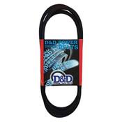 Poly Banded V-Belt, Belt J Poly V, 13.5in PL, 6 Rib (1/Pkg.)