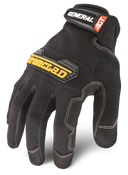 2X-Large - General Utility Glove - Black  Ironclad General Gloves (12/Pkg.)