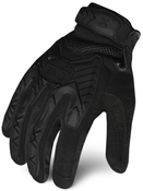 M - EXO Tactical Grip Impact Black | EXOT-GIBLK-03-M | IRONCLAD TACTICAL GLOVES (12/Pkg.)