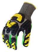 L - Industrial Impact Knit Cut 5 Grip IronClad Oil & Gas Gloves (12/Pkg.)