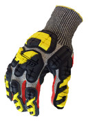 L - Industrial Impact Knit Cut 5 IronClad Oil & Gas Gloves (12/Pkg.)