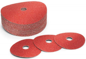 5x5/8-11 50-Grit, Ceramic Discs (25/Pkg.)