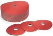 5x5/8-11 80-Grit, Ceramic Discs (25/Pkg.)