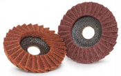 4-1/2 X 7/8 Very Fine Flap Discs, Surface Conditioning, Type 29/Angle-Fiberglass (1/Disc)