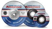 4-1/2X1/4X5/8-11 Type 27 Grinding Wheels, Advantage Fastcut - Metal (10/Pkg.)