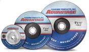 4X1/8X3/8 Type 27 Grinding Wheels, Advantage Fastcut - Metal (50/Pkg.)