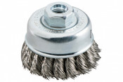 "2-3/4 x 5/8-11 Knot Cup Brush, .020"" Steel Wire - Advantage (1/Pkg.)"