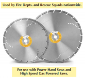 "14"" x 1 Power Twister, Diamond Blade (1/Pkg.)"
