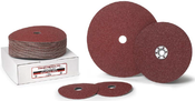 4 x 5/8 100-Grit Aluminum Oxide Fibre Discs (25/Pkg.)