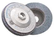 4-1/2 x 5/8-11 60-Grit, Zirconia Type 29/Angle Fiberglass Discs (10/Pkg.)