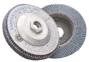 4 x 3/8-24 60-Grit, Zirconia Type 29/Angle Fiberglass Discs (10/Pkg.)