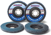 4 x 5/8 Z60-Grit Utility Flap Discs, Type 29/Angle Fiberglass (10/Pkg.)