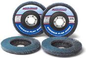 4 x 3/8-24 Z60-Grit Utility Flap Discs, Type 29/Angle Fiberglass (10/Pkg.)