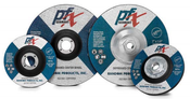 4-1/2 x 1/4 x 5/8-11 Type 27 Wheels, PFX/Germany Metal (10/Pkg.)